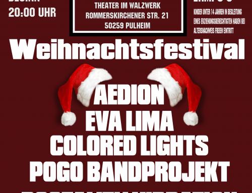Weihnachtskonzert der Rockinitiative Pulheim e.V. – RiP im Walzwerk