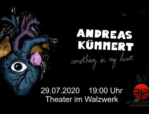 Andreas Kümmert Singer und Songwriter Live 29.07.2020