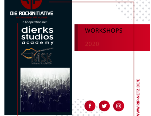 Workshopreihe ab dem 28.07.2020